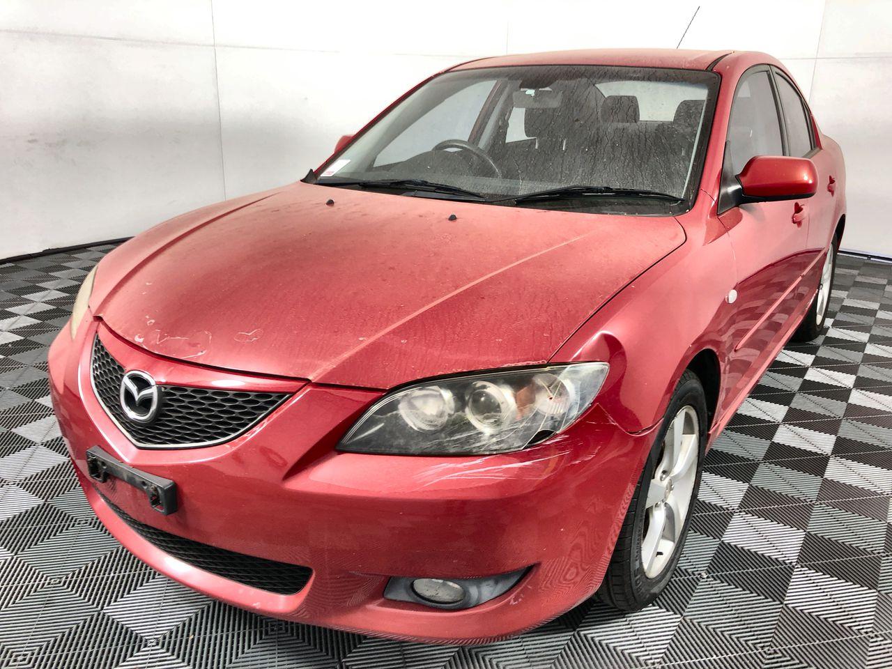 2004 Mazda 3 Maxx Sport BK Sedan, 136,101km