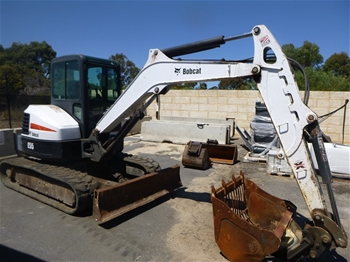 2013 Bobcat E55 5.5 Tonne Hydraulic Excavator Skid Steer Loader