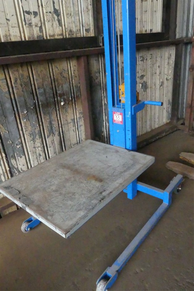 Lift aide BHW-1200 HAND OPERATED LIFTER
