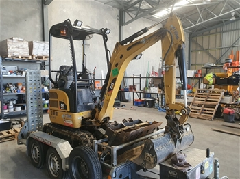 Caterpillar 301.7DCR Hydraulic Excavator