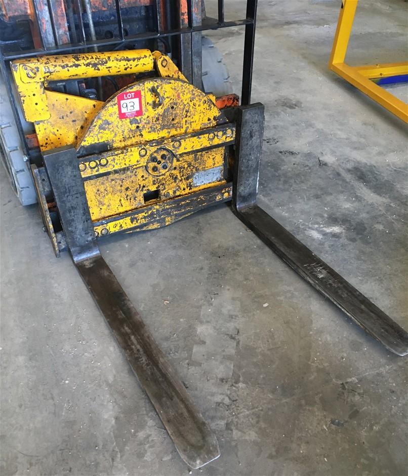 Hydraulic Fork Rotator