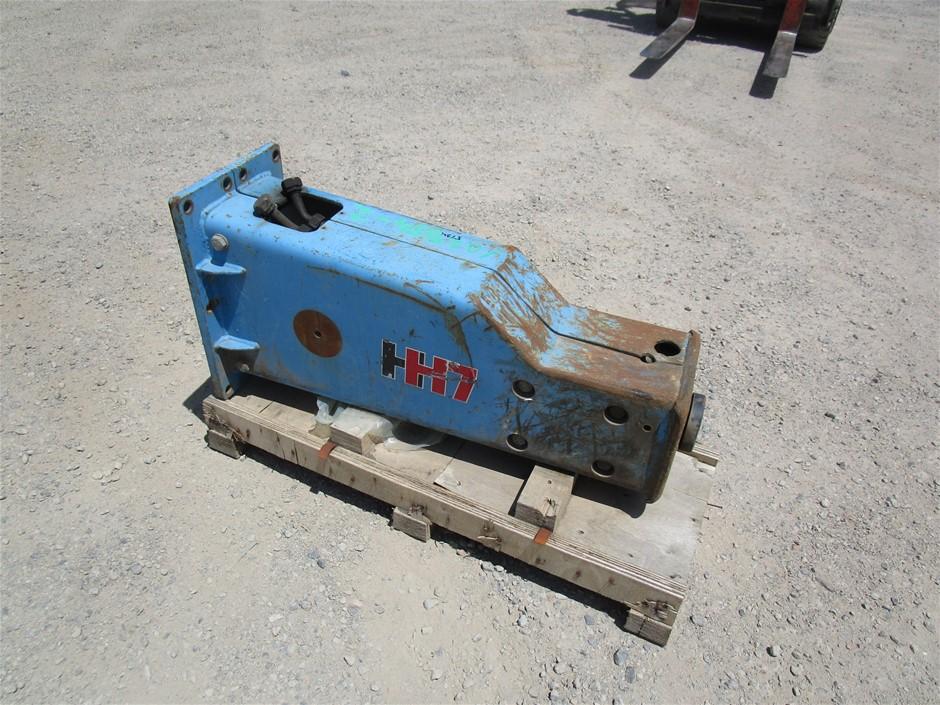 Atlas Copco H7 Excavator Hammer Rock Breaker to Suit a 5-10T Excavator