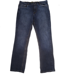 URBAN STAR JEANS Men`s Straight Leg Jean