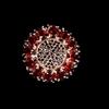 Striking Genuine Red Garnet & Spinel Ring