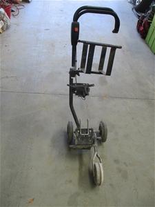 Steel Fabricated Cut Off Saw Trolley