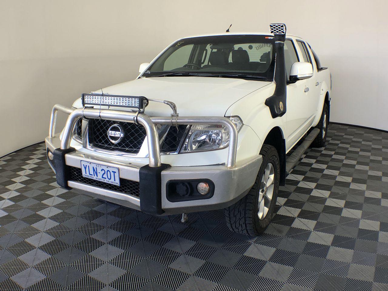 2012 Nissan Navara ST 4x4 T/Diesel Dual Cab Ute 146,329kms