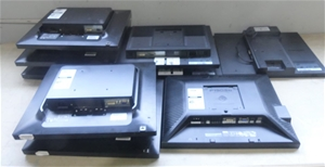 Box of Assorted Monitors without Stands