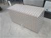 Aluminium Checker Plate Lock Box