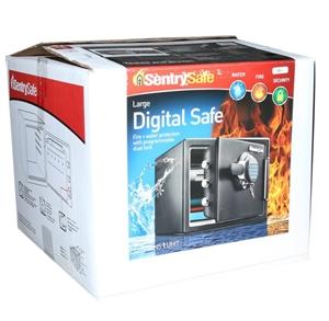 SentrySafe Digital Safe Interior Dimensi