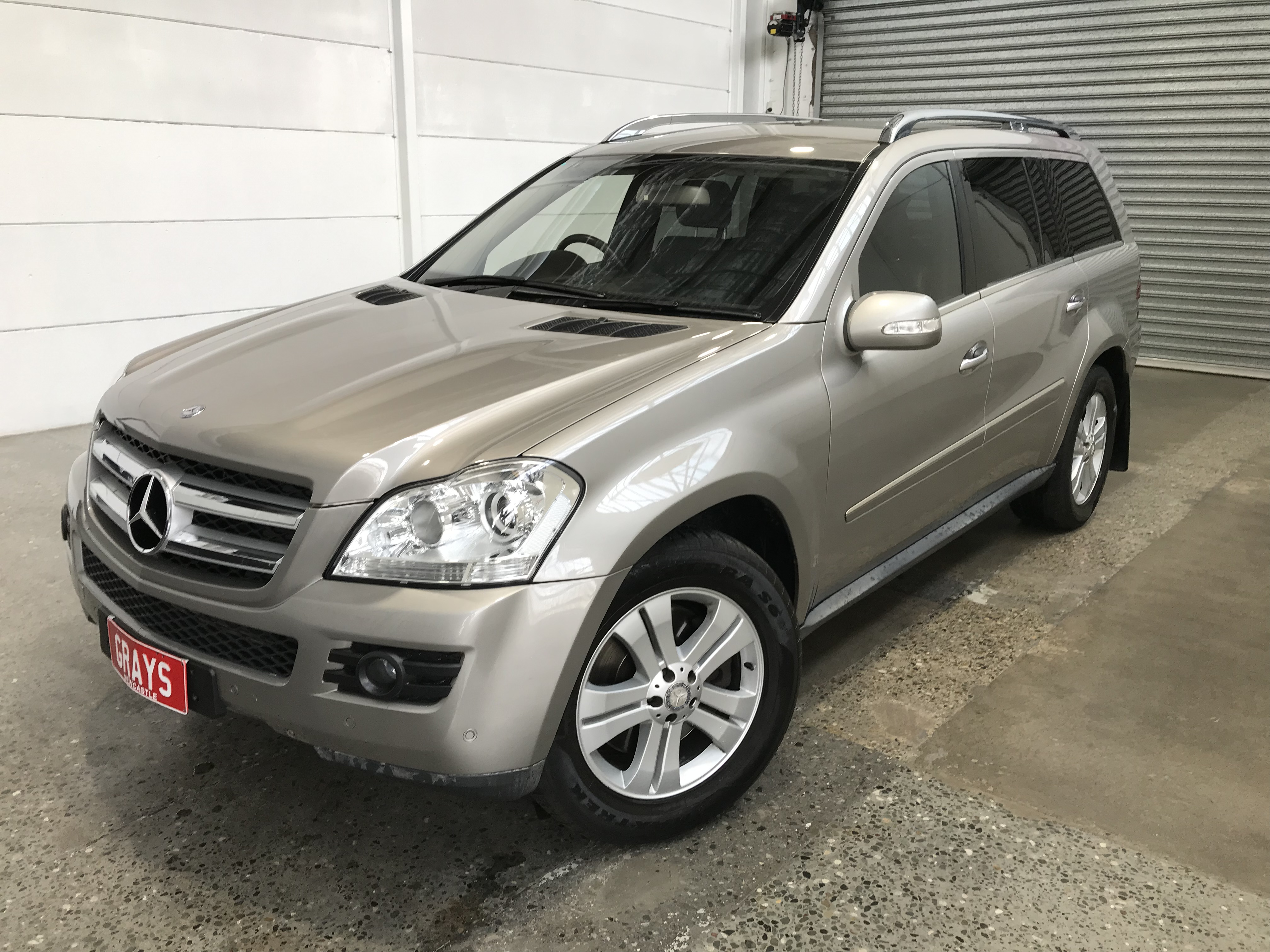 2007 Mercedes Benz GL 320 CDI X164 Turbo Diesel Automatic 7 Seats Wagon