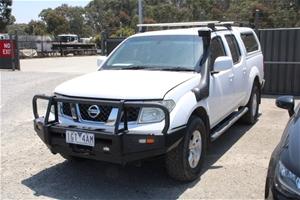 2010 Nissan Navara ST (4x4) D40 Turbo Di