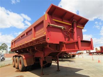 27x 2012 Powertrans 140T Side Tipper Trailers