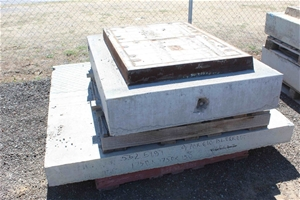 Heavy Duty Storm Water Lid and Surround