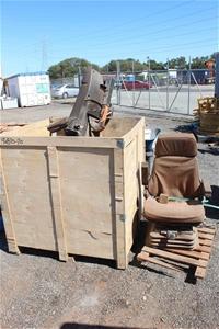 4 x Earthmoving Machine Operator Seats