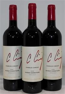Charles Cimicky Signature Shiraz 2000 (3