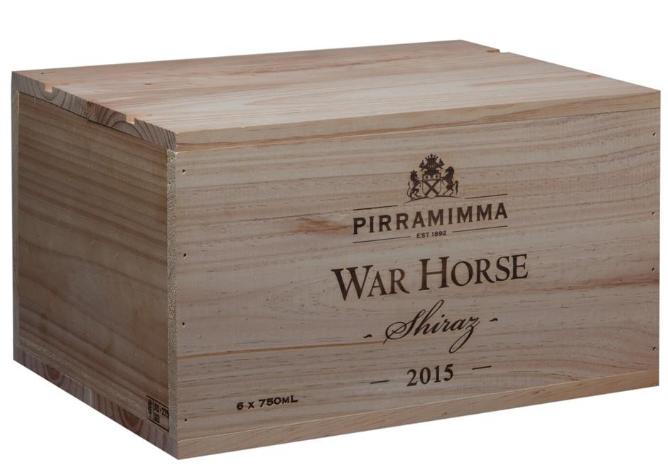 War Horse Shiraz 2015 In Wooden Box (6 x 750mL) McLaren Vale, SA