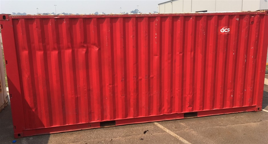 6m x 2.4m (20ft) Shipping Container (Location: Kwinana Beach)