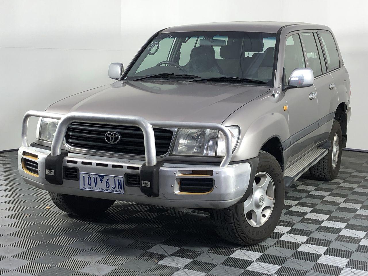 2001 Toyota Landcruiser GXL (4x4) HDJ100R T/D Auto 8 Seat Wagon (RWC 25/11)