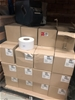 Pallet of Labels qty approx 120 rolls in 60 boxes