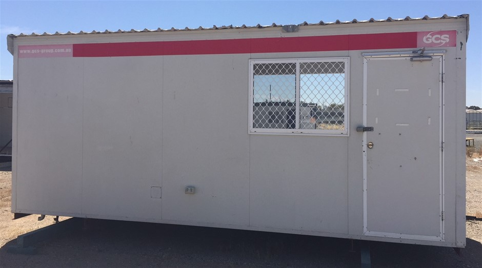 6m x 3m Skid Mounted Portable Building (Location: Hopeland, WA)