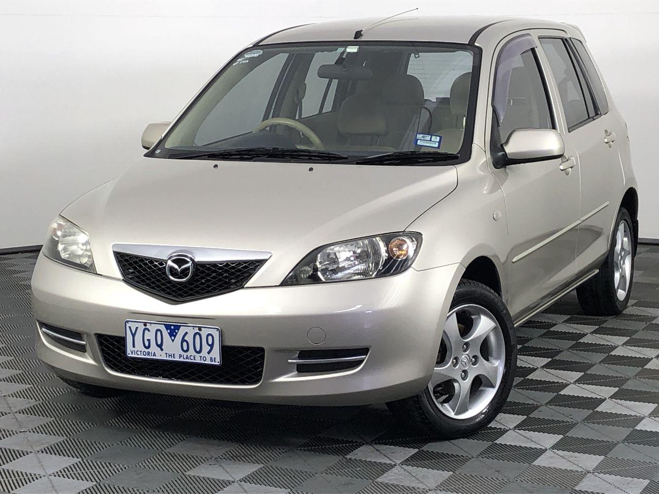2002 Mazda 2 Maxx DY Manual Hatchback