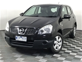 Unreserved 2008 Nissan Dualis ST (4x4) J10 Manual