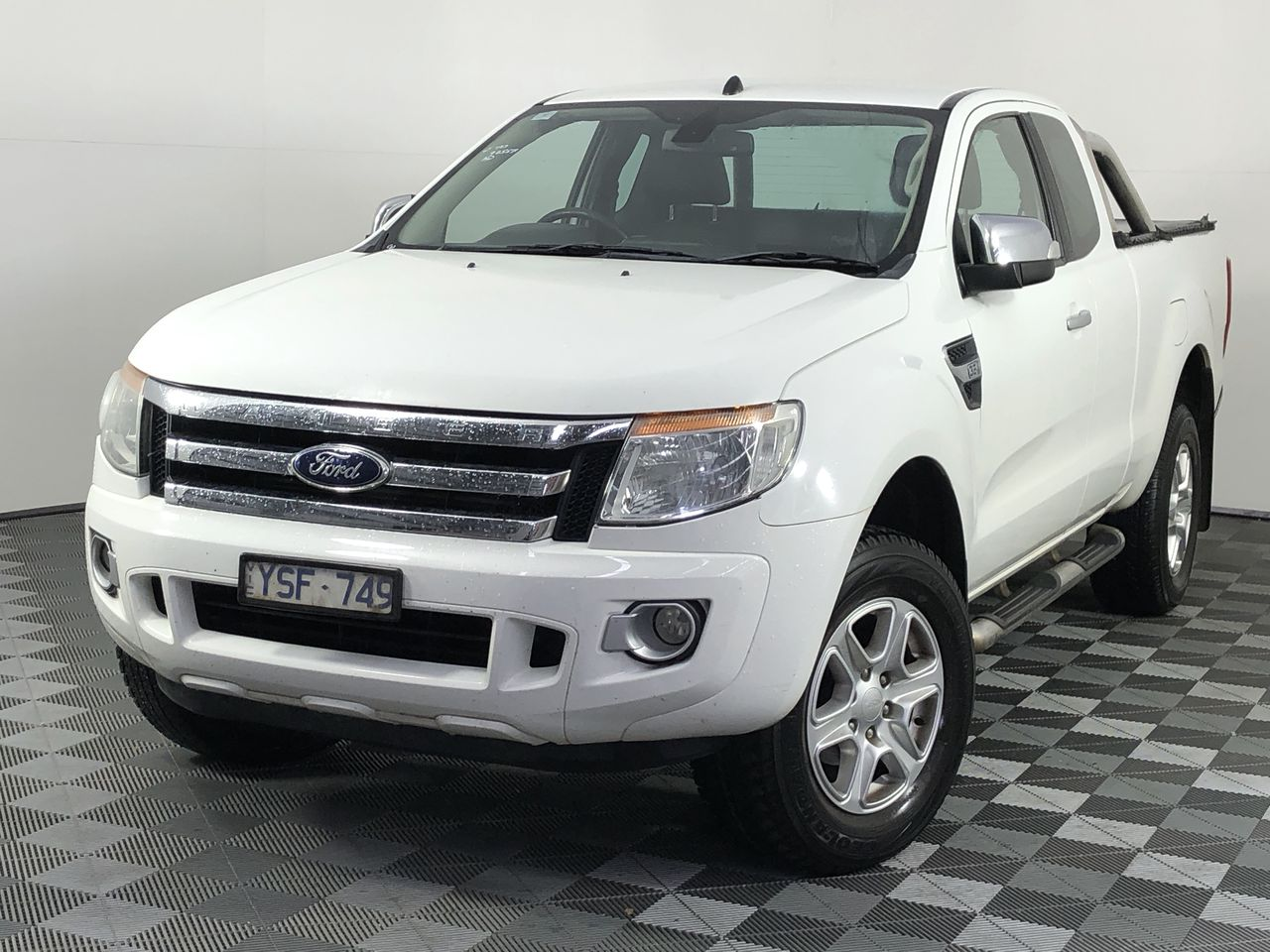 2011 Ford Ranger XLT 4X2 Hi-Rider PX Turbo Diesel Automatic Ute