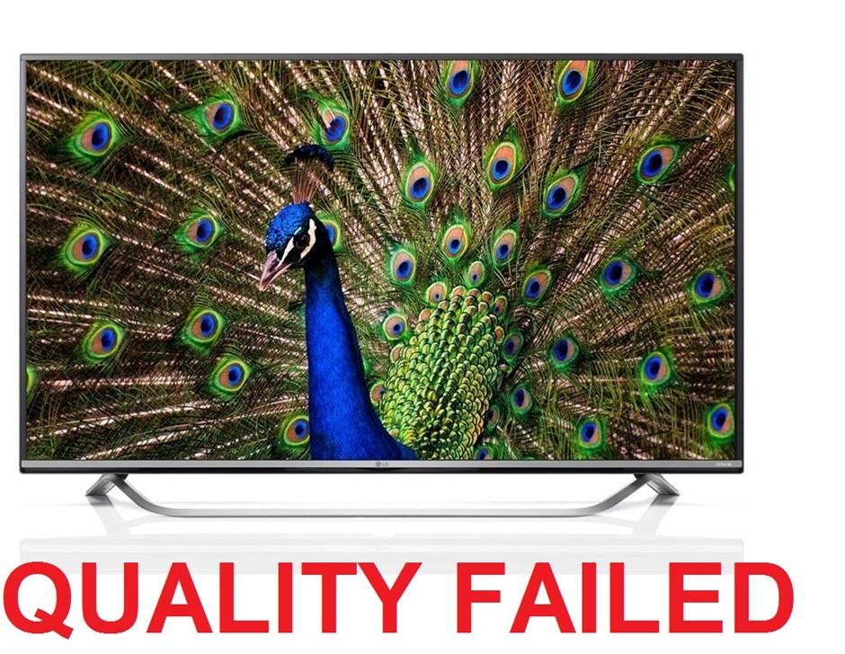 LG 60inch 4K Ultra HD WebOS 2.0 Smart TV+ Built-in Wi-Fi (60UF770T)