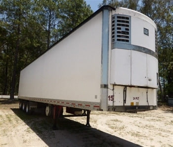 2001 Maxitrans ST3-OD Triaxle Pantech/Refrigerated Trailer
