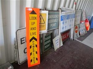 Site Control Signage