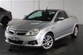 Unreserved 2006 Holden Tigra XC Manual Convertible