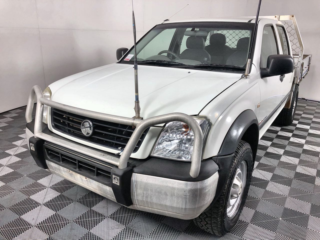 2004 Holden Rodeo LX (4x4) RA Turbo Diesel Dual Cab Chassis