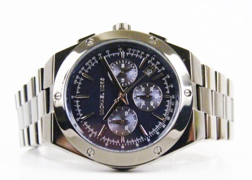 Mens unworn Michael Kors Couture 'Reagan' luxury chrono watch
