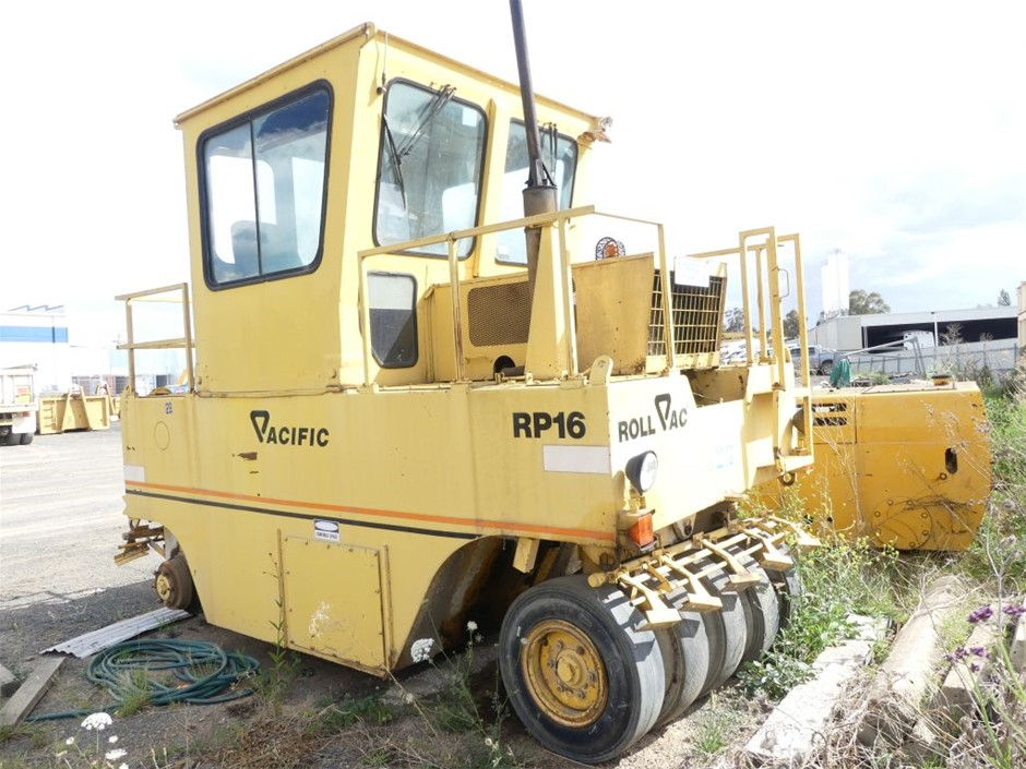 Multi Tyre Roller, Pacific Roll Pac, Model: RP16