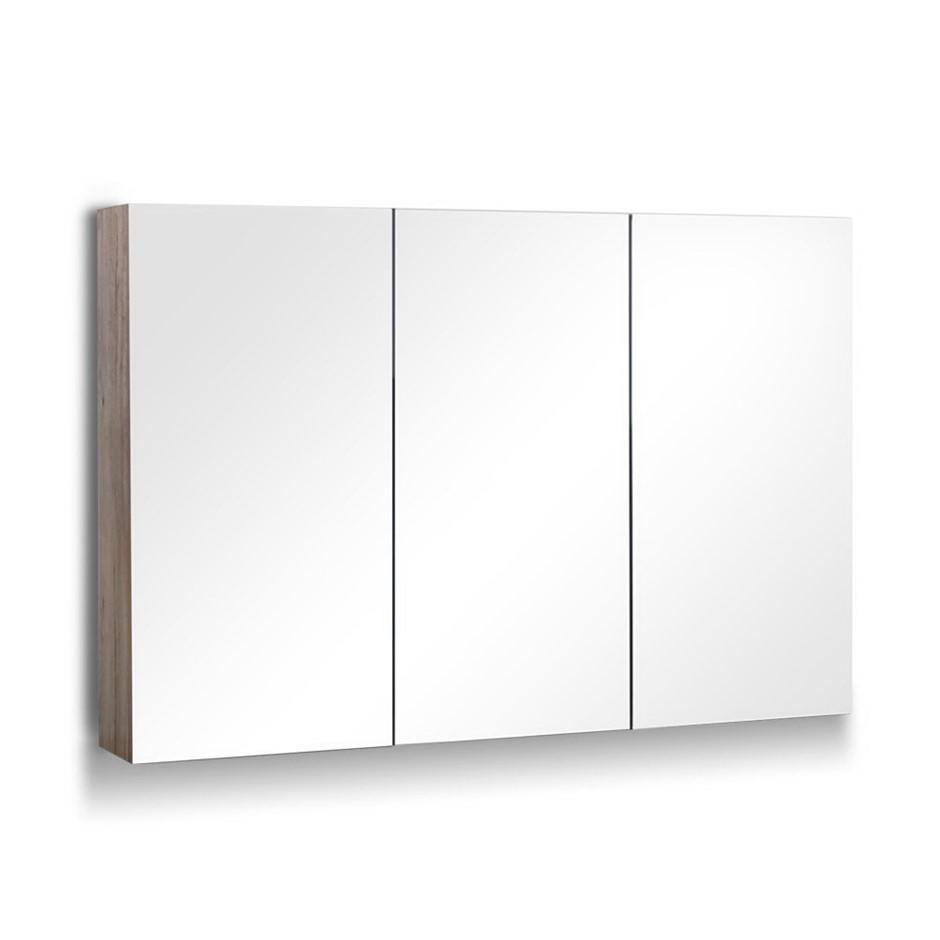 Cefito 1200MMx720MM Bathroom Vanity Mirror Cabinet Shaving Pencil Edge