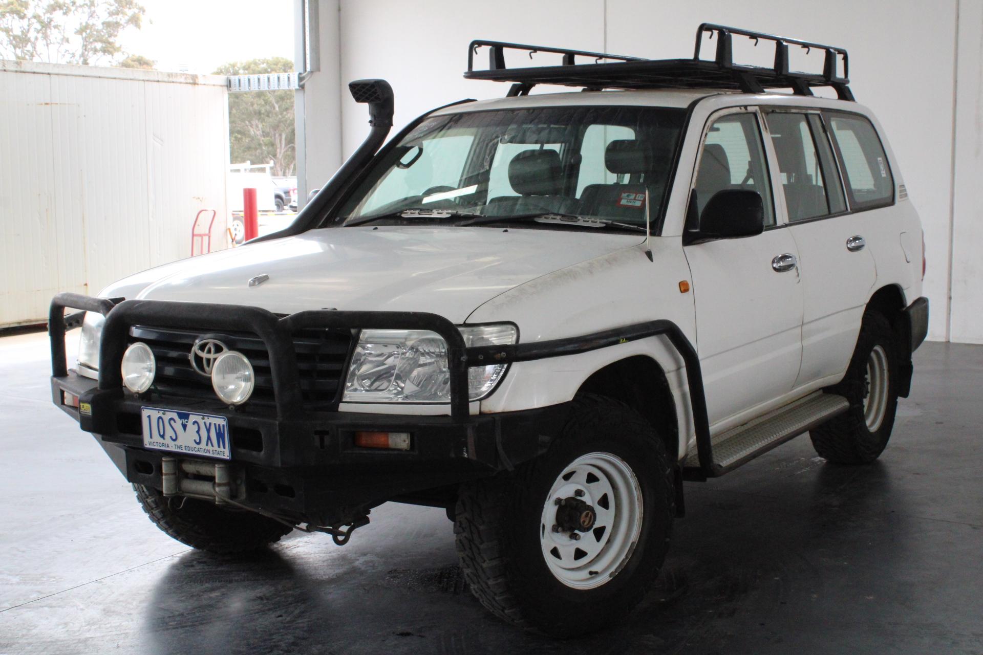 2003 Toyota Landcruiser (4x4) HZJ105R Man Wagon (WOVR)