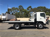Unreserved 2007 Hino FT 4 x 4 Tray Body Truck