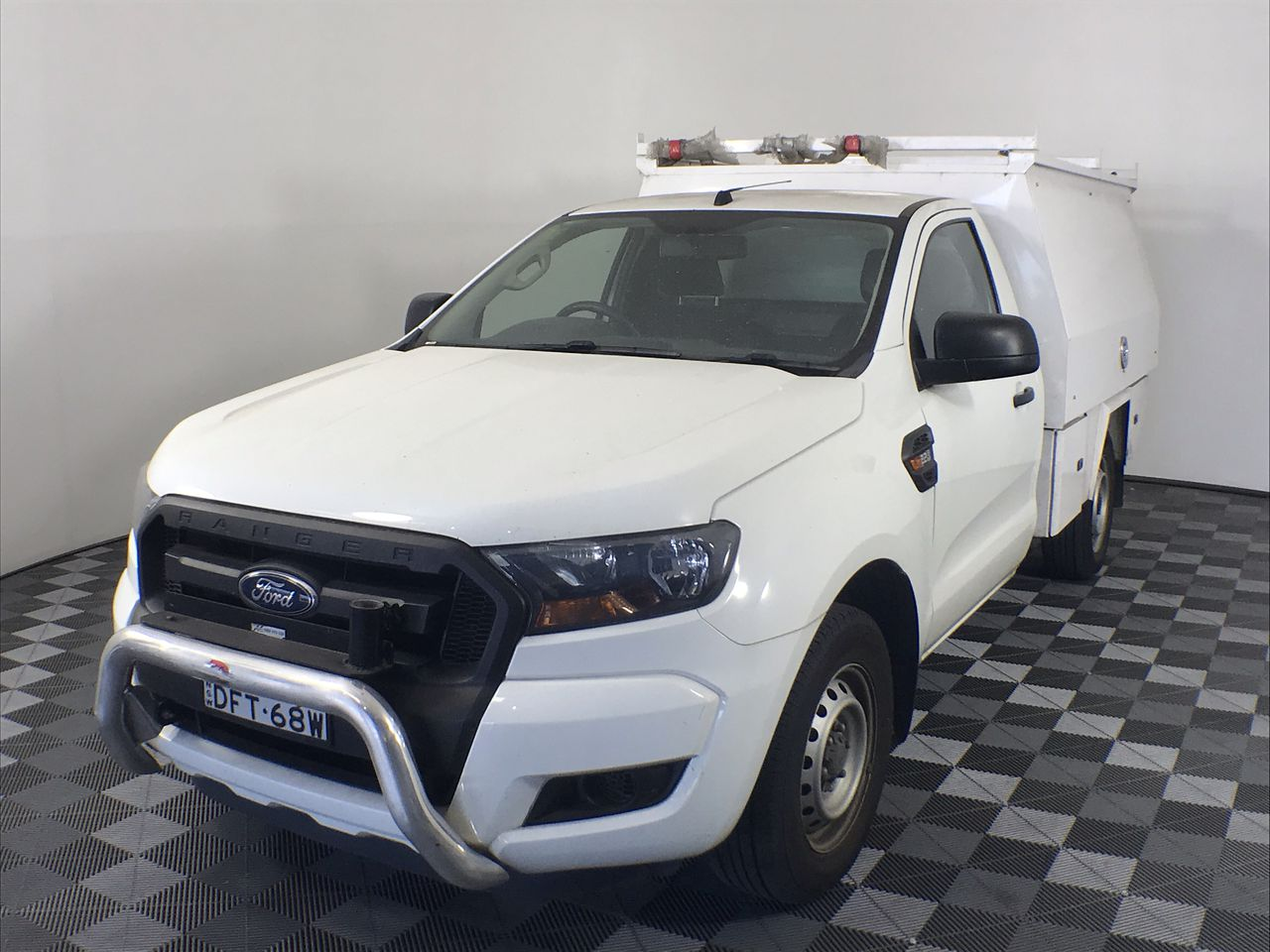 2015 Ford Ranger XL 2.2 (4x2) PX II Turbo Diesel Manual Cab Chassis