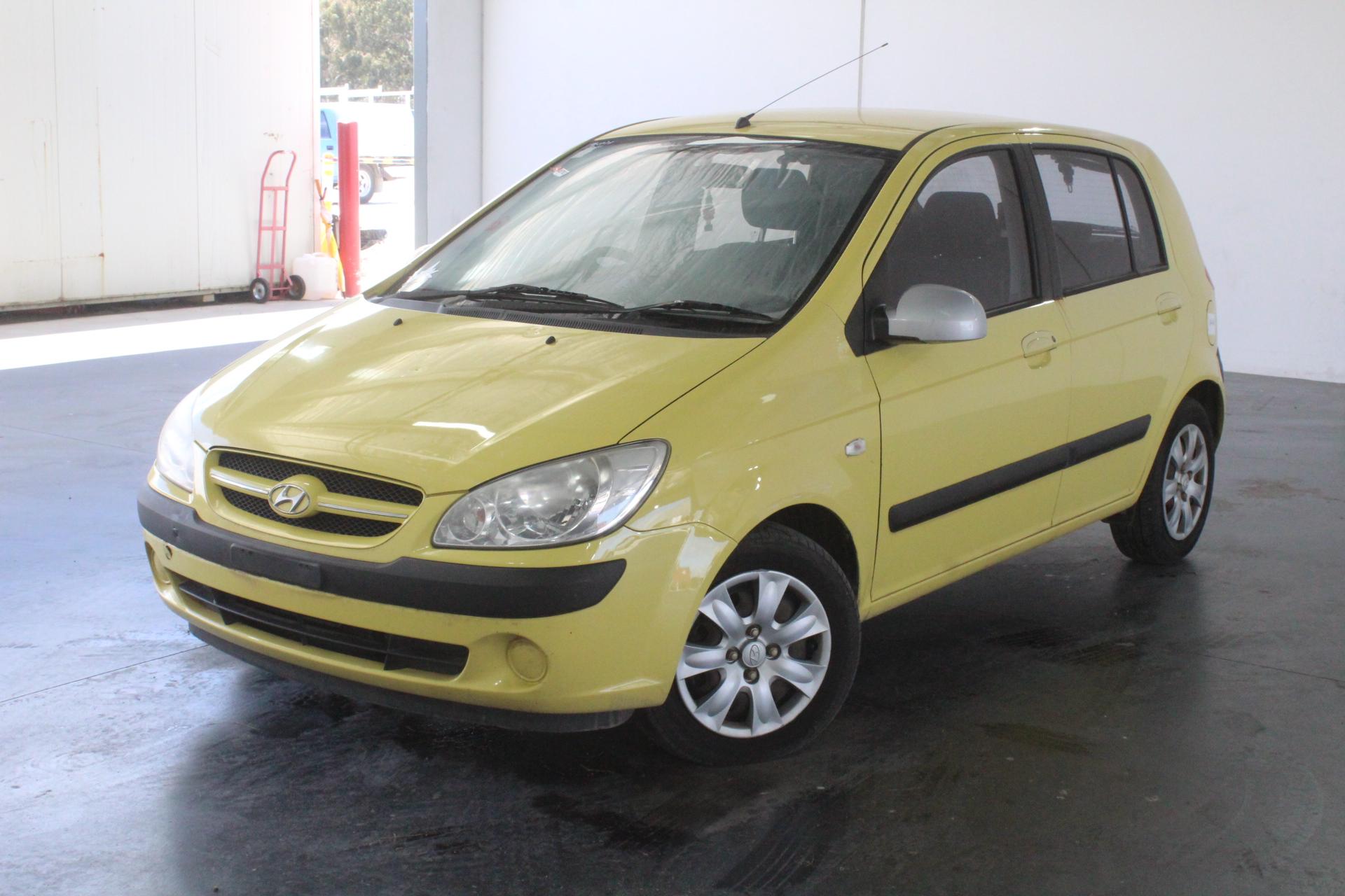 2007 Hyundai Getz 1.6 TB Automatic Hatchback