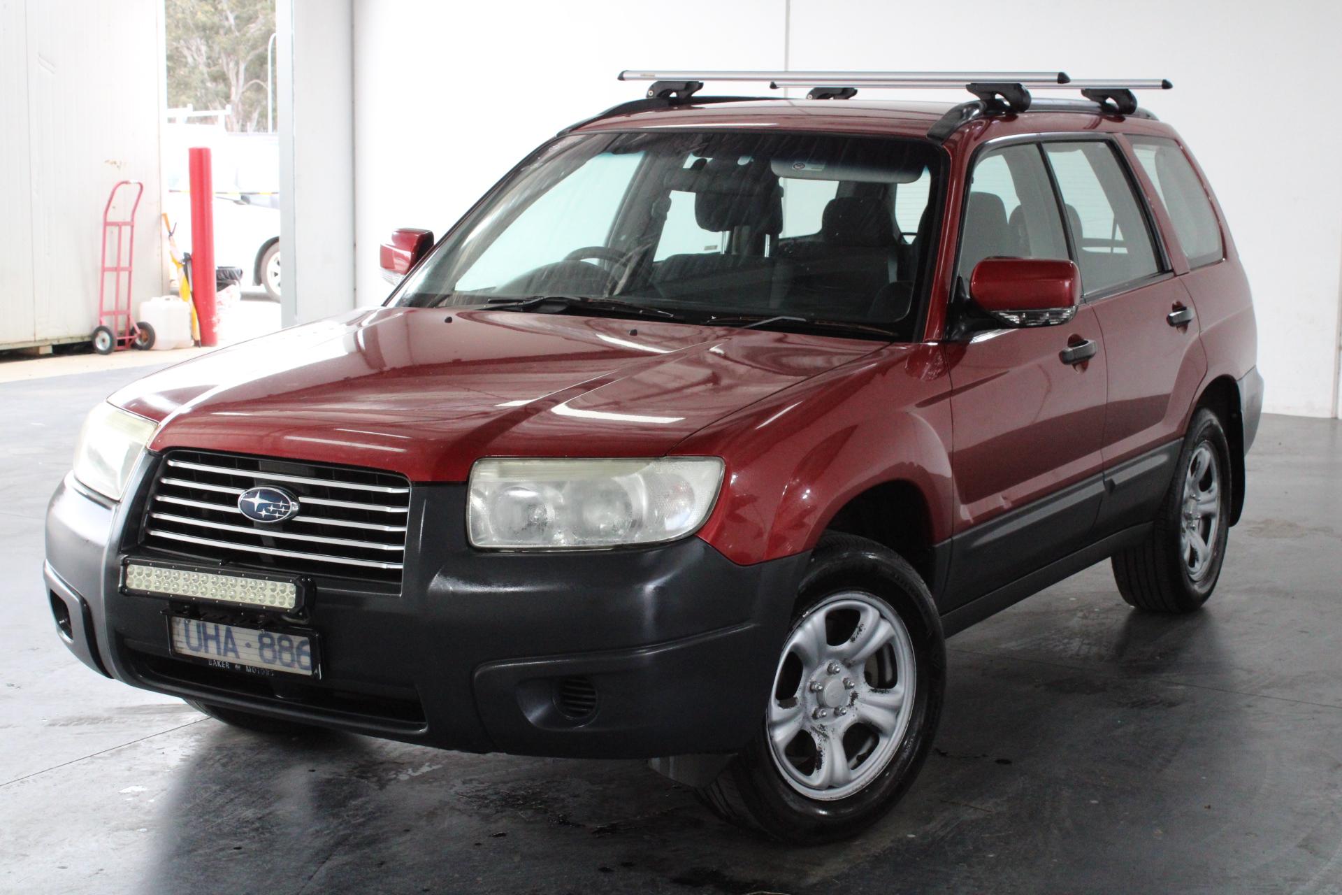 2006 Subaru Forester X Manual Wagon