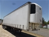 12/2002 Vawdrey VBS30D Triaxle Curtainsider/Refrigerated Trailer