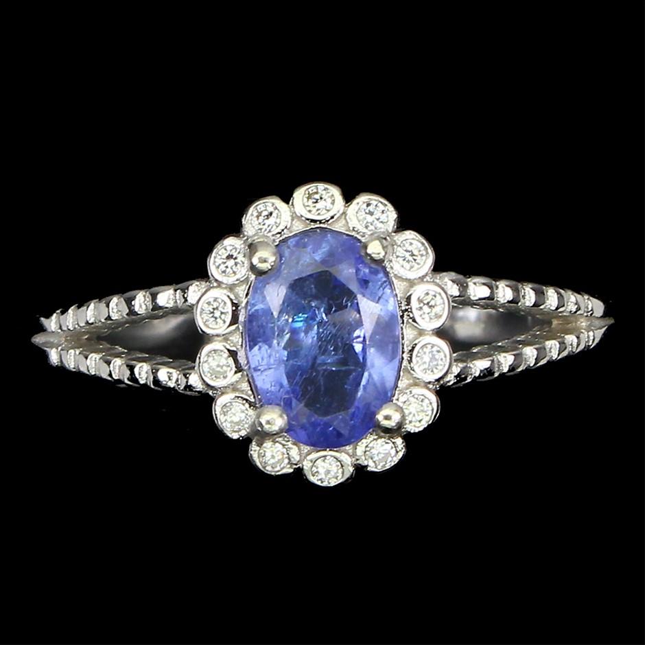 Sublime Genuine Tanzanite Ring.