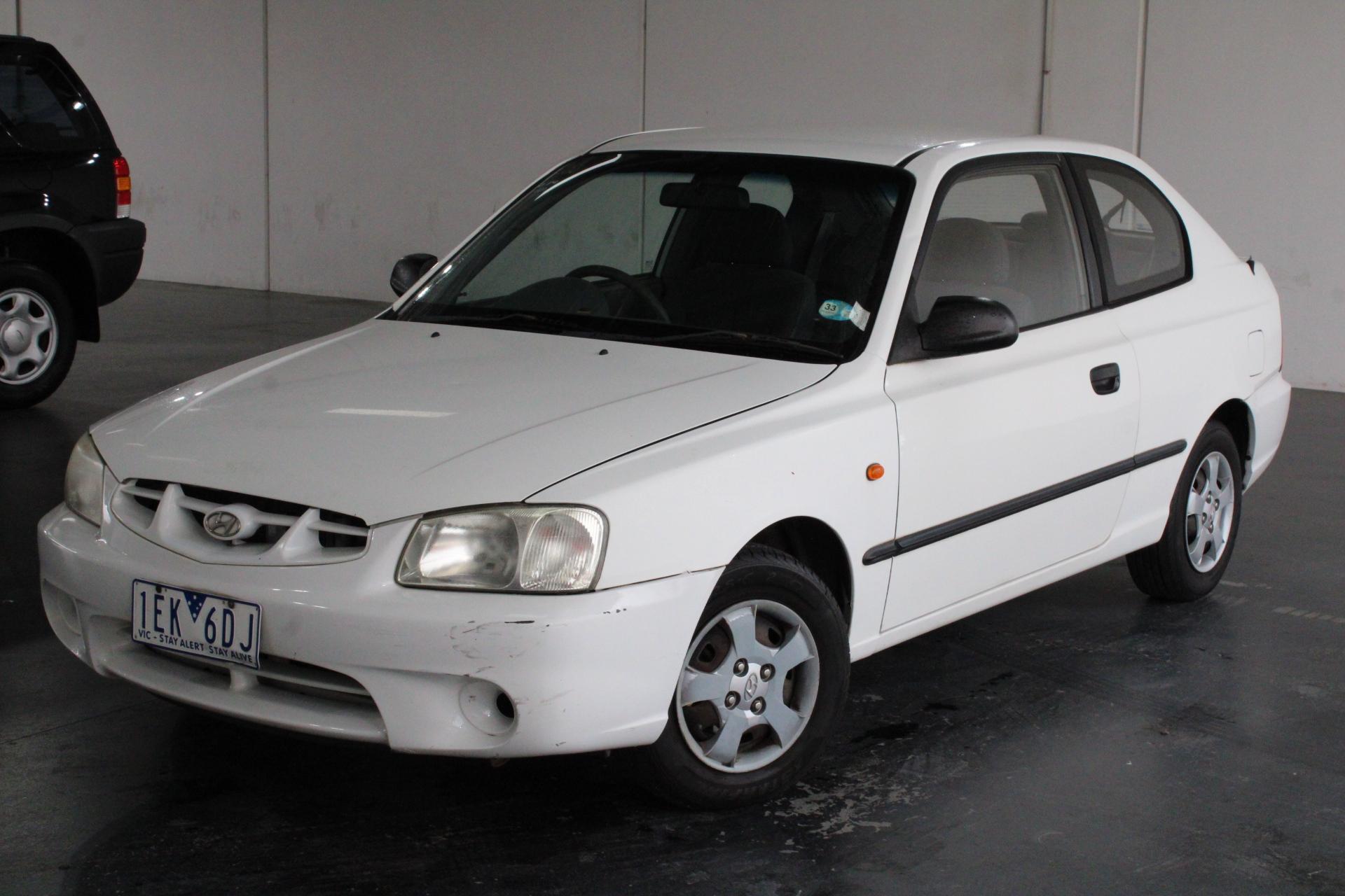 2002 Hyundai Accent GL LS Manual Hatchback