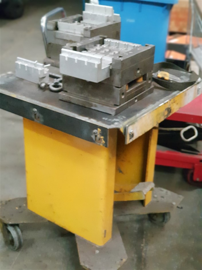 Heavy Duty Die Tool Lift Trolley (Not Including Mould Dies)