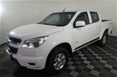 Unreserved 2012 Holden Colorado 4X4 LT RG T/D Dual Cab