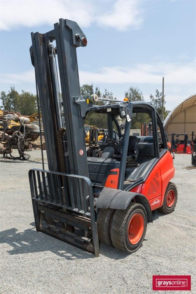 2007 4.5 Tonne Linde H45 4 Wheel Counter Balance Forklift