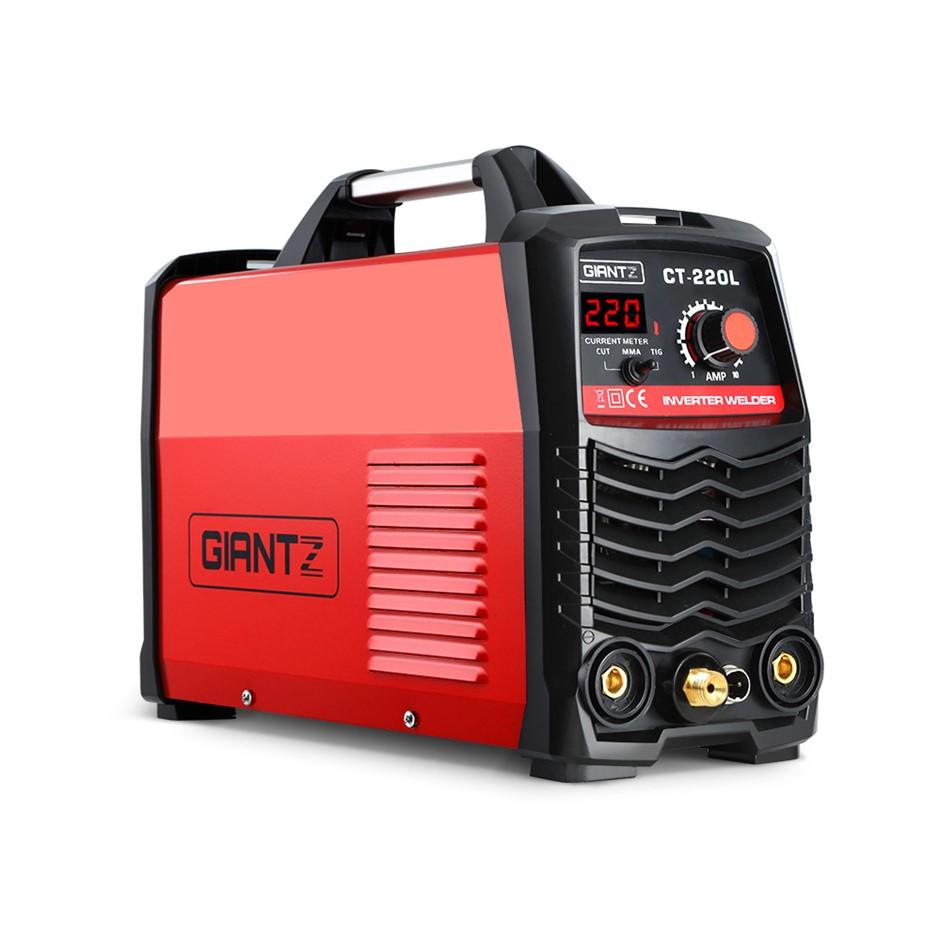 Giantz Plasma Cutter TIG GAS IGBT DC Inverter Welder 50A Portable 220Amp