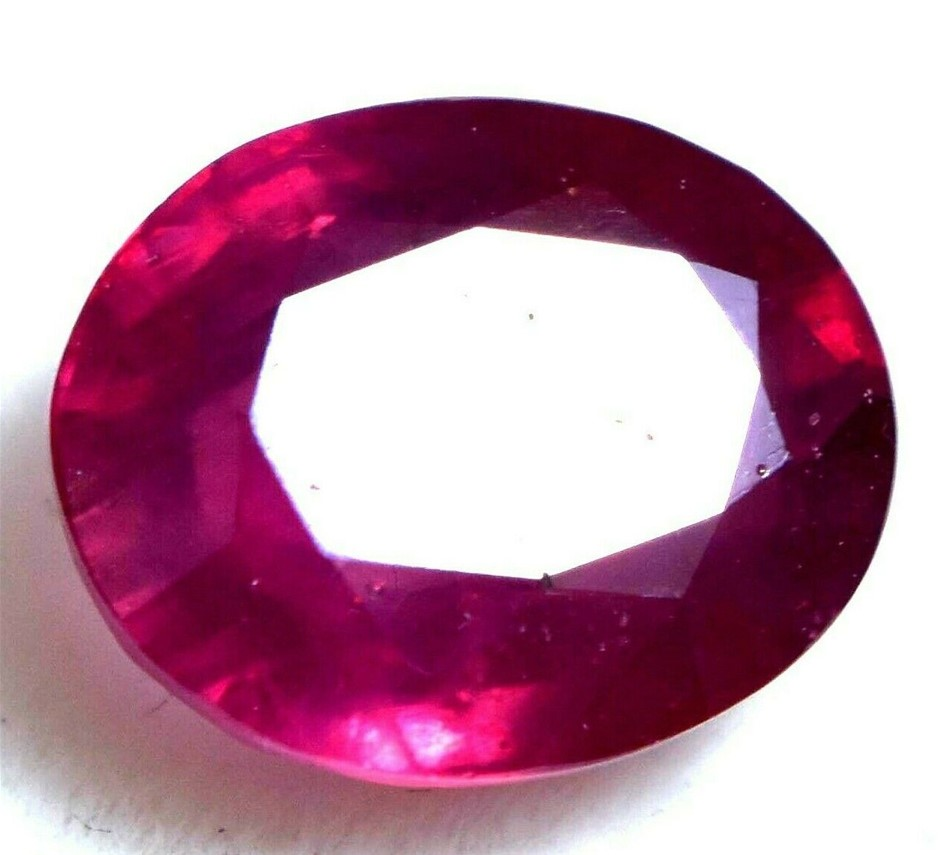 4.80 ct. Oval Cut Red Ruby