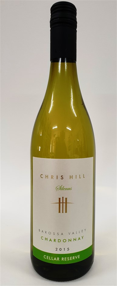 Chris Hill Silenus Cellar Reserve BV Chardonnay 2015 (12 x 750mL) SA