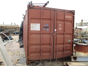 20 Foot Open Top Shipping Container with